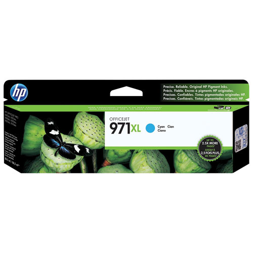 HP Officejet 971XL Cyan Ink