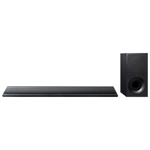 Barre de son ultramince 2.1 canaux 300 W avec haut-parleur d'extrêmes graves sans fil de Sony