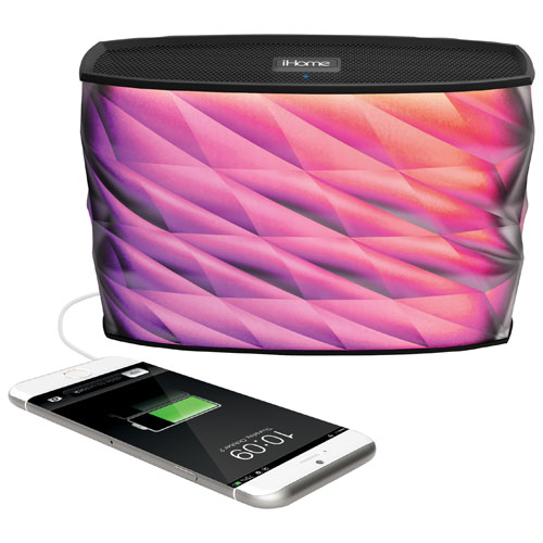 iHome Colour-Changing Bluetooth Wireless Speaker