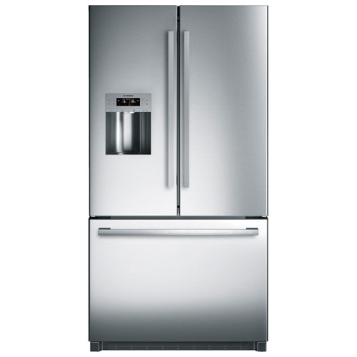 "Bosch 36"" 25.5 Cu. Ft. French Door Refrigerator with LED Lighting - Stainless Steel"