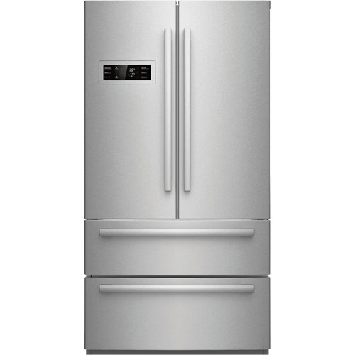 "Bosch 36"" 20.8 Cu. Ft. Counter-Depth French Door Refrigerator (B21CL80SNS) - Stainless Steel"