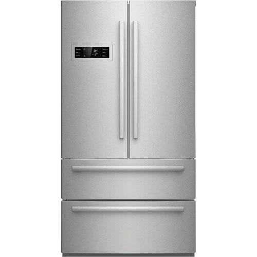 Réfrigérateur 2 portes 20,8 pi3 36 po profondeur de comptoir Bosch (B21CL80SNS) - Acier inoxydable