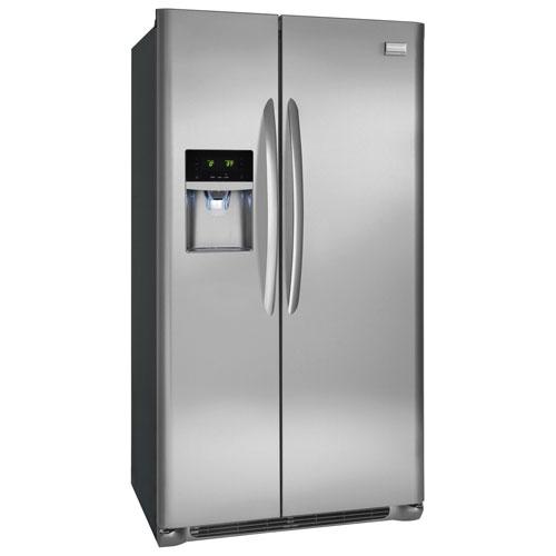 Réfrigérateur à profondeur de comptoir côte à côte 22,2 pi³ 36 po Gallery de Frigidaire (FGHC2355PF)