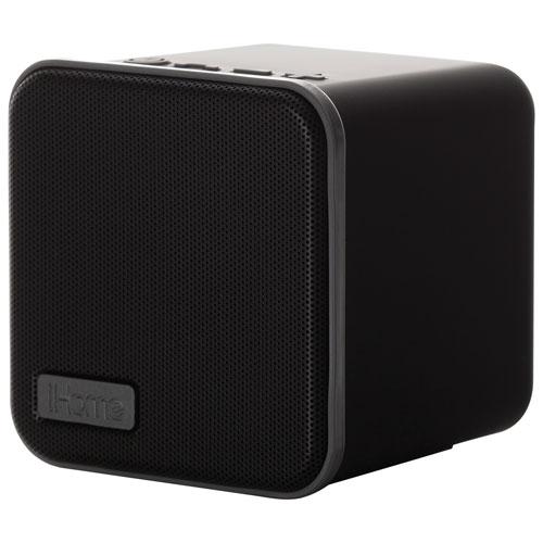 Enceinte Bluetooth d'iHome (IBT56BGC) - Noir