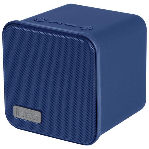 Haut-parleur sans fil Bluetooth d'iHome (IBT56DLC) - Bleu