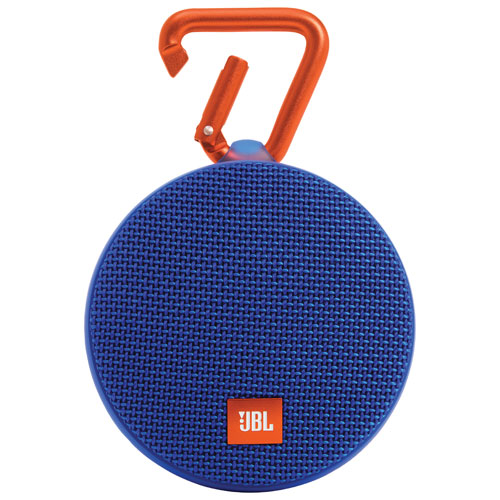 Haut-parleur sans fil Bluetooth étanche Clip 2 de JBL - Bleu