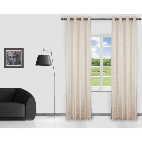 Gouchee Design Brielle Curtain - 2 Pack - Ivory