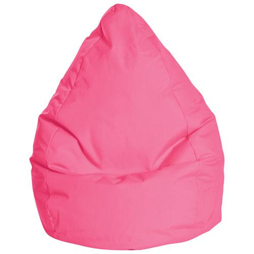 Sitting Point Braval XL Contemporary Bean Bag Chair - Pink
