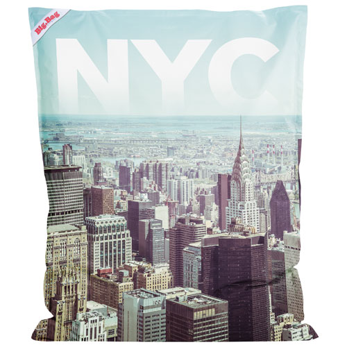 Contemporary BigBag NYC Polyester Bean Bag Chair