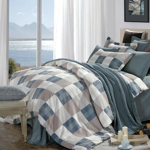 North Home - Emma 100% Cotton 4pc Duvet Cover Set (Queen)