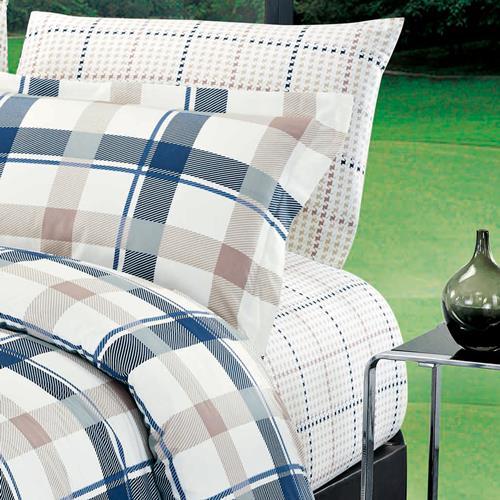 North Home Burton 100% Cotton Sheet Set(Twin)
