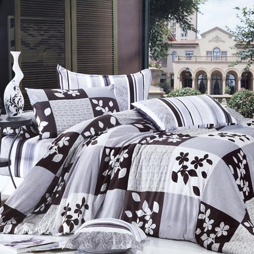 North Home - Orient 100% Cotton 4pc Duvet Cover Set (Queen)