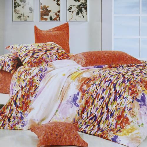 North Home Zest 100% Cotton 4pc Sheet Set(Queen)