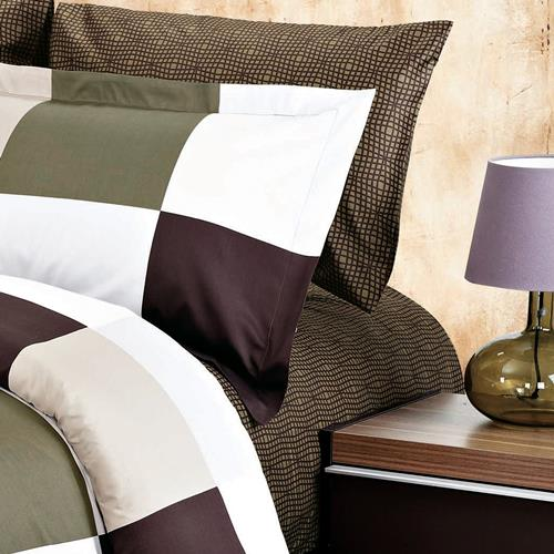 North Home Park Brown 100% Cotton Sheet Set(Queen)