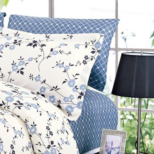 North Home Adelaide 100% Cotton Sheet Set(Queen)