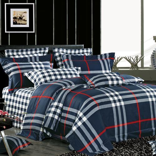 North Home Berkley 100% Cotton 4pc Duvet Cover Set(Queen)