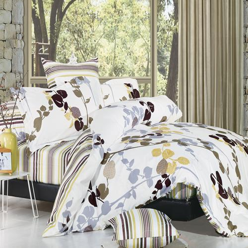 North Home - Vintage 100% Cotton 4pc Duvet Cover Set (King)