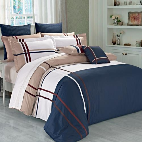 North Home Wilson Duvet Cover Set, queen size