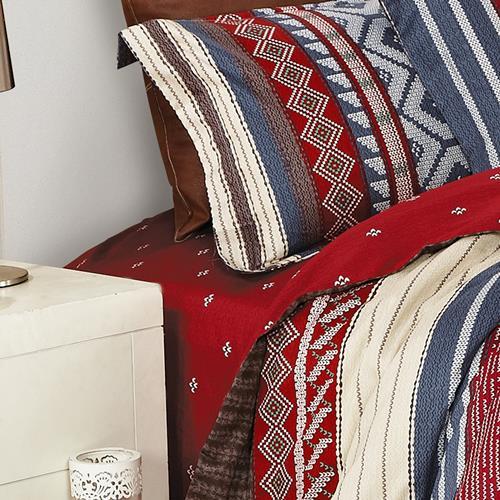 North Home Algonquin 100% Cotton Sheet Set(Twin)