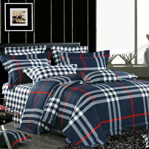 North Home Berkley 100% Cotton 4pc Duvet Cover Set(Twin)