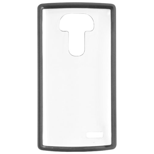 Affinity Hybrid LG G4 Fitted Soft Shell Case - Clear/Black