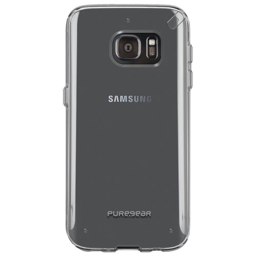 PureGear Slim Shell Galaxy S7 Fitted Hard Shell Case - Clear