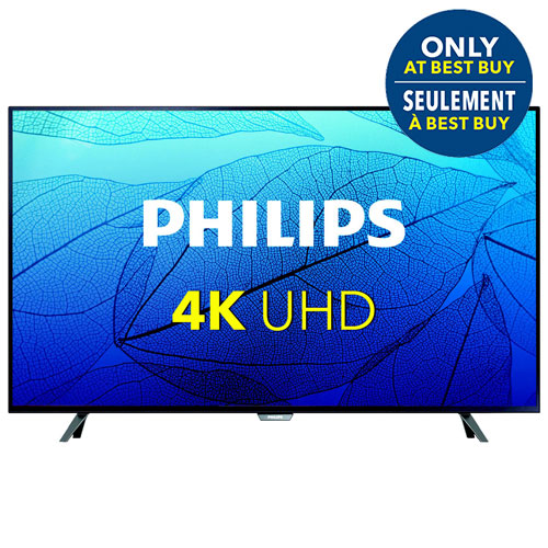 Téléviseur Chromecast DEL UHD 4K de 65 po de Philips (65PFL6621/F7) - Exclusivité Best Buy