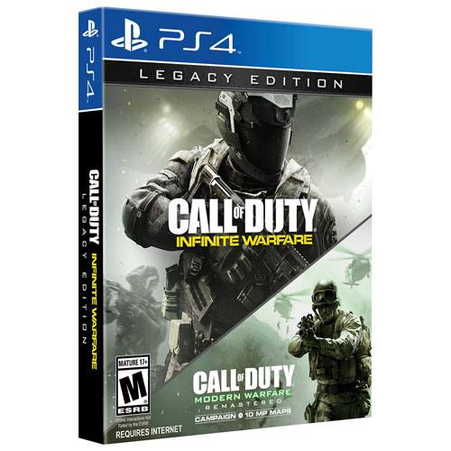 Call of Duty: Infinite Warfare Legacy Edition (PS4) - Anglais