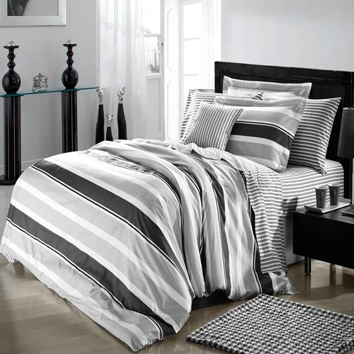 North Home Trenton 100% Cotton 4pc Sheet Set, Twin size