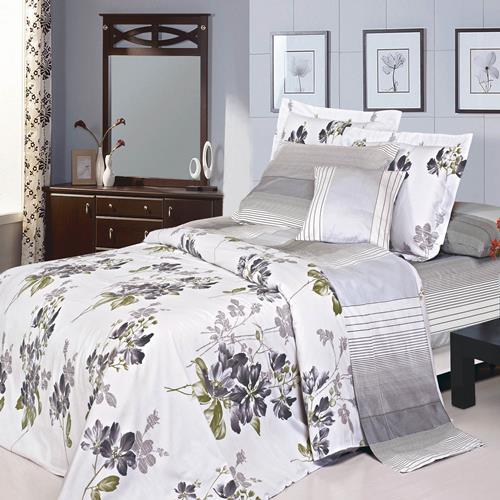 North Home - Katie 100% Cotton 4pc Duvet Cover Set (Queen)