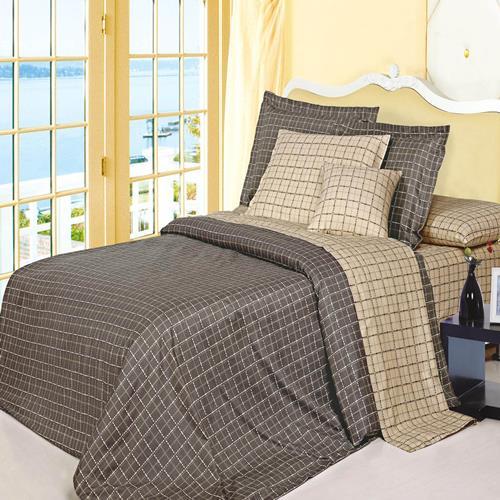 North Home Matrix 100% Cotton 4 PC Duvet Cover Set, queen size