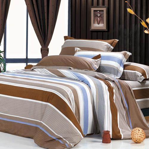 North Home - Luna 100% Cotton 4pc Duvet Cover Set (Queen)