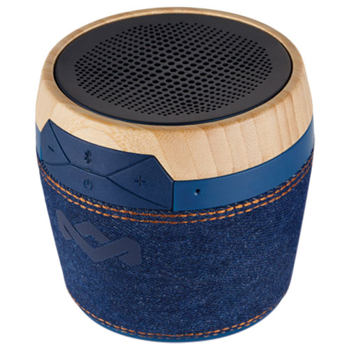 House Of Marley Chant Mini Bluetooth Wireless Speaker   Denim : Portable  Bluetooth Speakers   Best Buy Canada