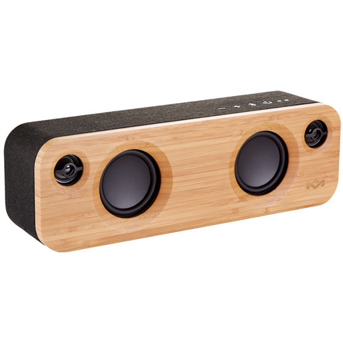 Enceinte sans fil Bluetooth Get Together Mini de House of Marley - Noir signature