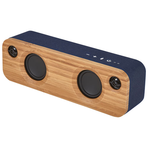 Enceinte sans fil Bluetooth Get Together Mini de House of Marley - Denim