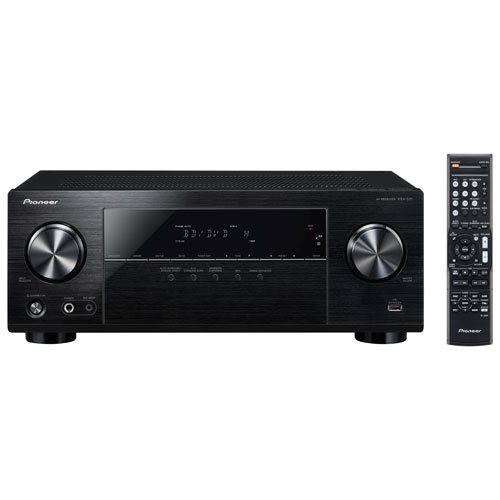 Pioneer VSX-531-K 5 1 Channel 3D 4K Ultra HD AV Receiver