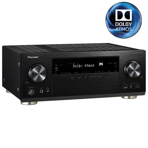 Pioneer VSX-1131-K 7.2 Channel 3D 4K Ultra HD Atmos Network AV Receiver