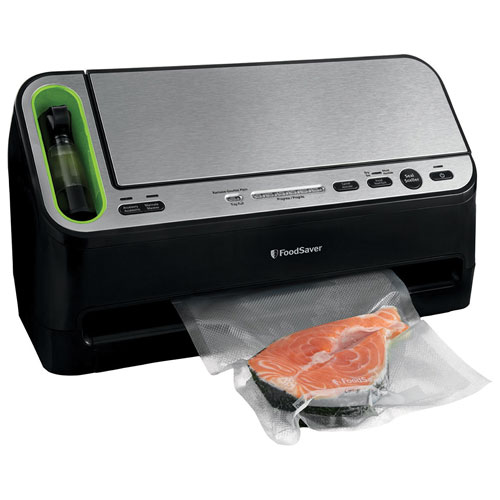 The FoodSaver Vacuum Sealer brings you a solution to your food storage needs. Common food storage methods trap air, causing foods to lose flavor and nutrition. The Food Vacuum Sealer removes air from specially designed bags/5().