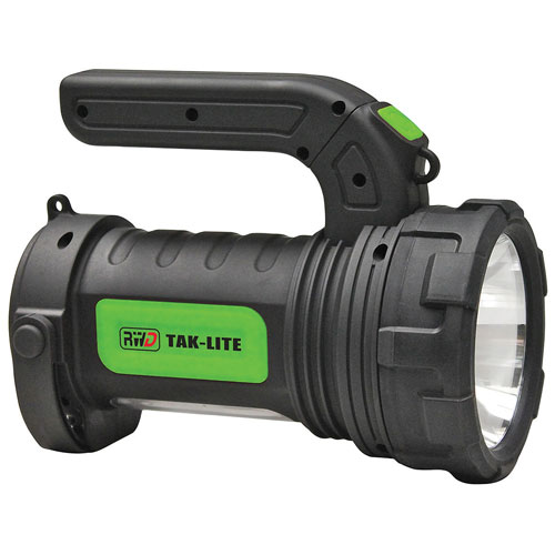 Rockwater Designs 2-in-1 Spotlight/Flashlight - 250 Lumens - Black/Green