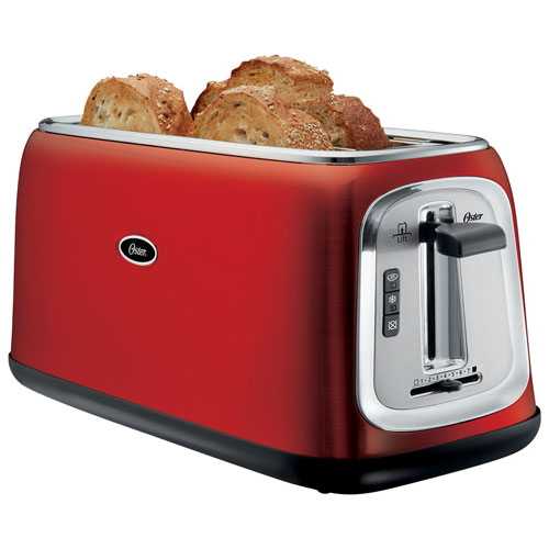 Oster Toaster - 4-Slice - Red : Toasters - Best Buy Canada | {Toaster 36}