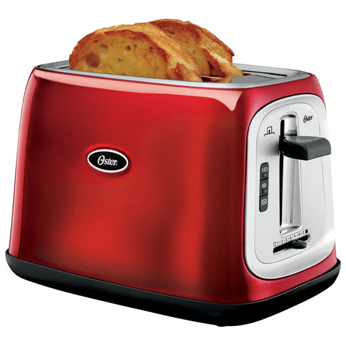 Oster Toaster 2 Slice Red Toasters Best Buy Canada