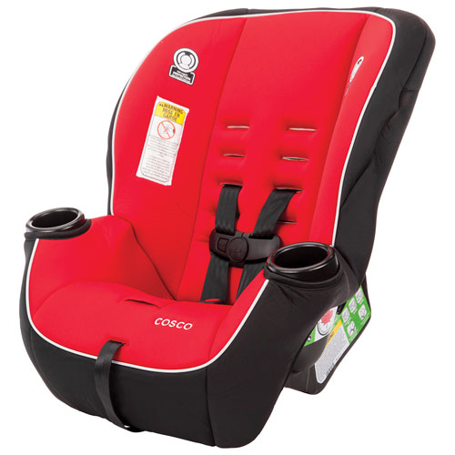 Cosco Apt Convertible Car Seat - Red/Black