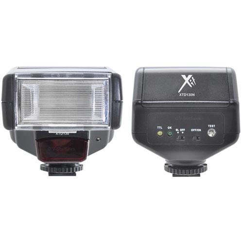 Flash numérique à mesure à travers l'objectif Professionnal de Xit pour Nikon (XTD130N)