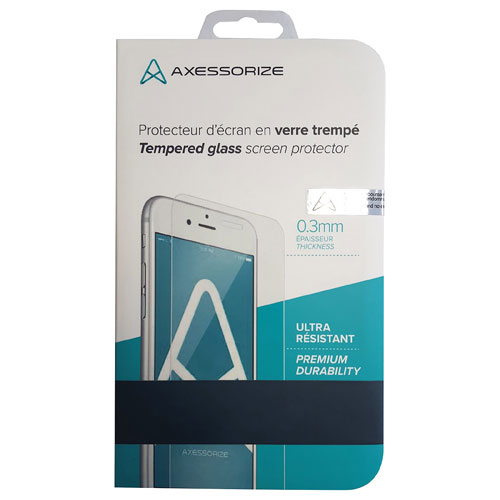 Axessorize iPhone 6/6s Plus Tempered Glass Front Screen Protector