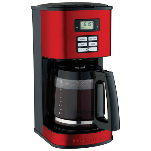 Small Red Coffee Maker