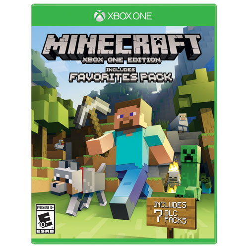 Minecraft: Xbox One Edition avec extension Favourites Pack