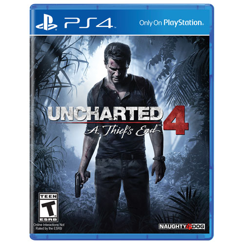 Uncharted 4: A Thief's End (PS4) - Previously Played