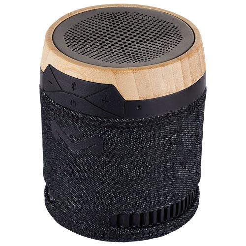 Haut-parleur sans fil Bluetooth Chant résistant aux éclaboussures de Marley - Noir emblématique