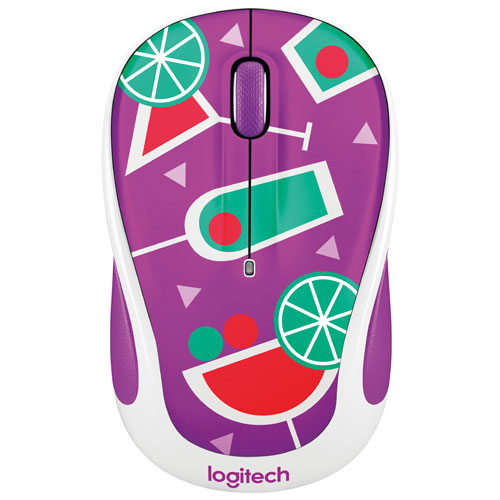 Logitech Party M325 Wireless Optical Mouse - Cocktail