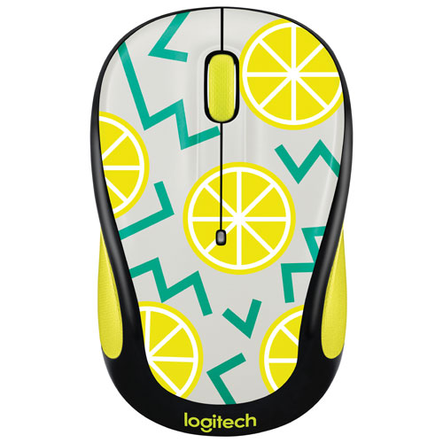 Logitech Party M325 Wireless Optical Mouse - Lemon
